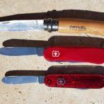 Victorinox und Opinel Kindermesser