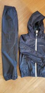 Quechua Regenhose und Jacke von Decathlon