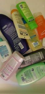 Plastik Duschzeugverpackungen