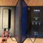 Outdoor Solar und PowerBank setup von Anker