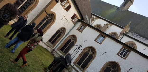 Abtei Mariawald innerhalb des Kreuzganges