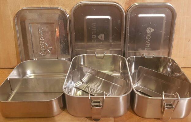Lunchbox mit und ohne Verschluss